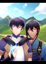 (commission) Sunlit Fantasy