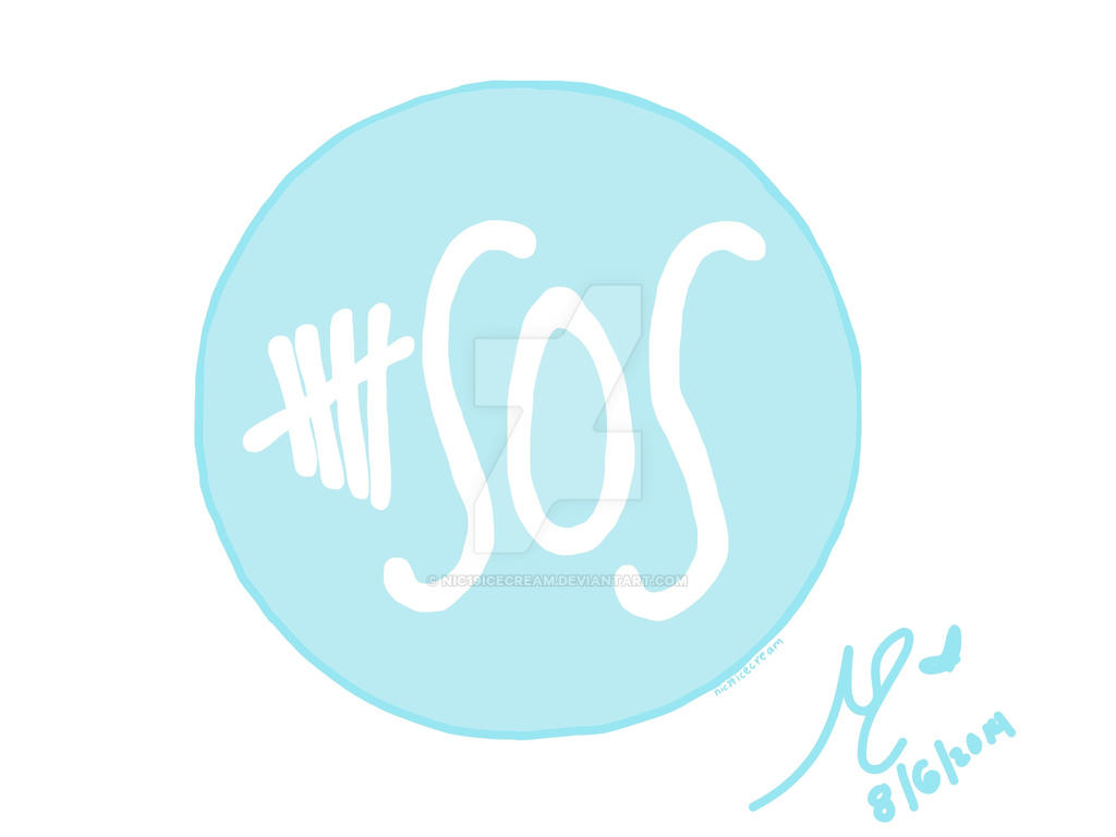 5SOS Logo Blue by nic19icecream on DeviantArt