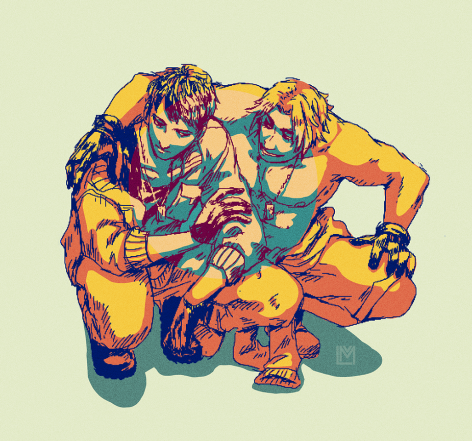 dangerous duo by mangoekaki