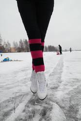 I skated