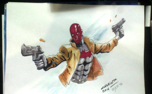 Red Hood by Hexekiel