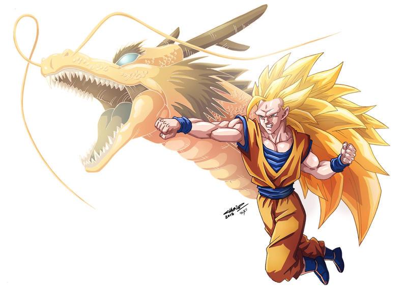 SS3 Son Goku by Hexekiel