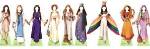 Goddess Paper Doll