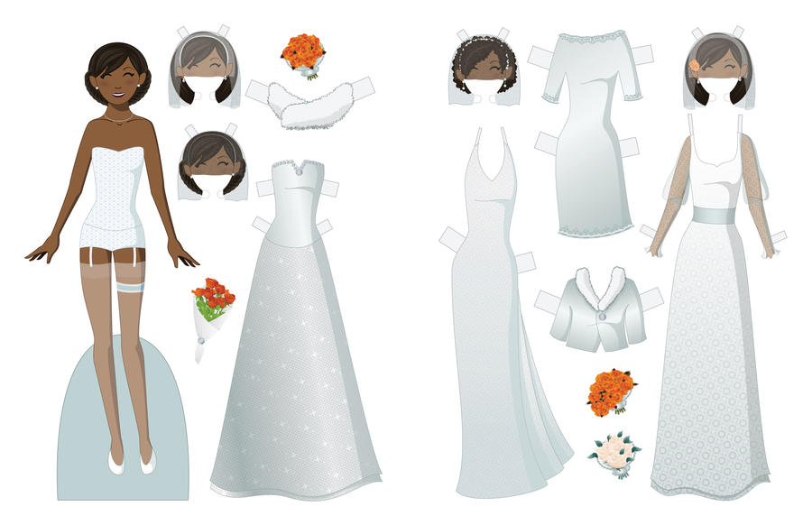 Wedding Paper Doll by juliematthews on DeviantArt