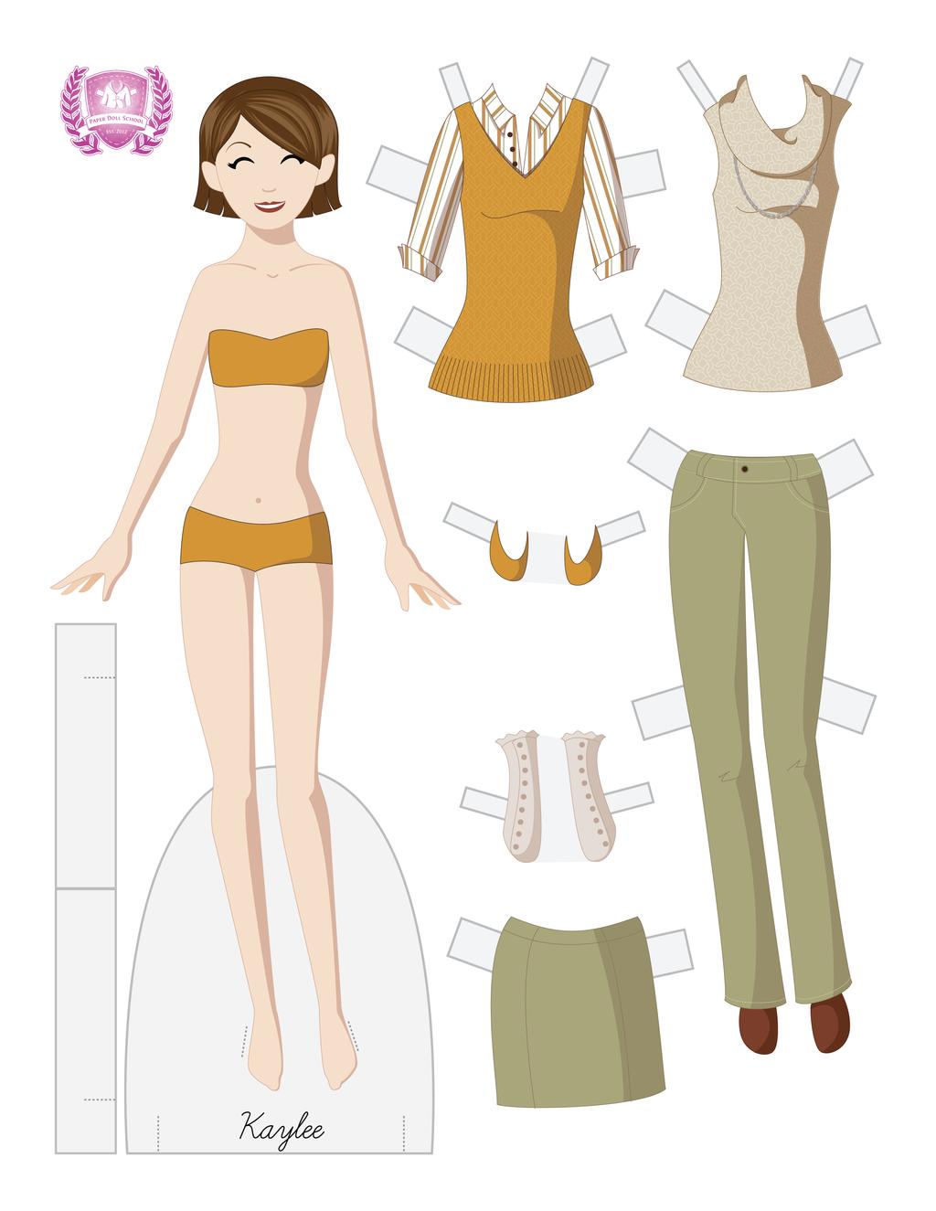 Kaylee Fashion Paper Doll by juliematthews on DeviantArt