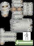 Mummy Moveable Doll by juliematthews