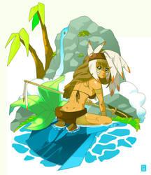 . jungle . by pyawakit