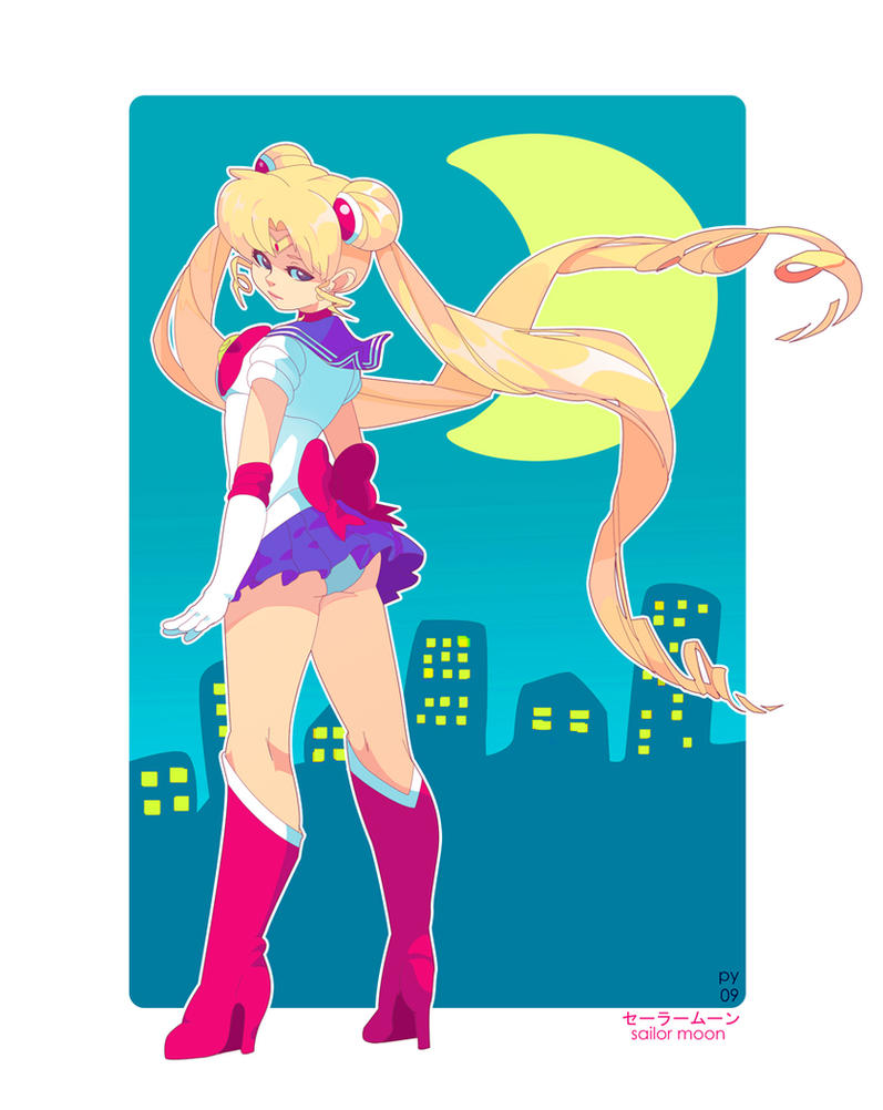 sailor moon by pyawakit