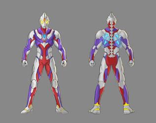 Ultraman Tiga Redesign