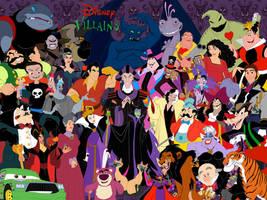 Disney Villains Gang