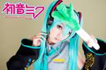 Hatsune Miku-Vocaloid-Cosplay