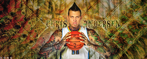 Chris Andersen Heat Wallpaper