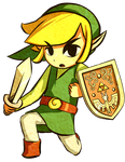 Wind Waker Link Collab