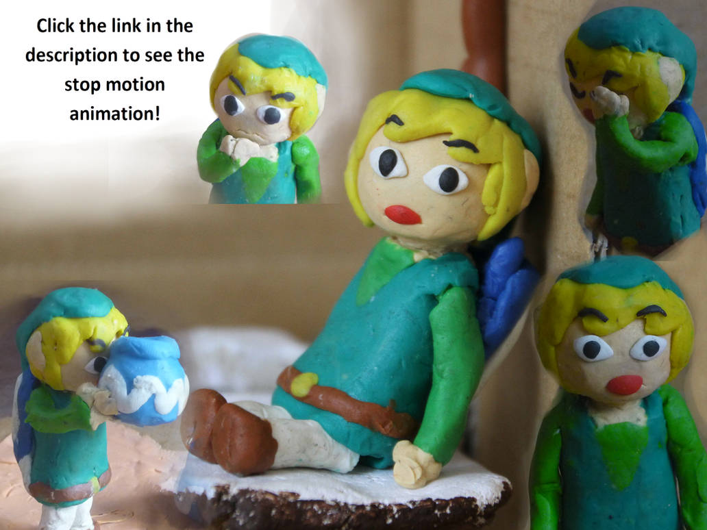 Link's Game Over: Another stop motion animation