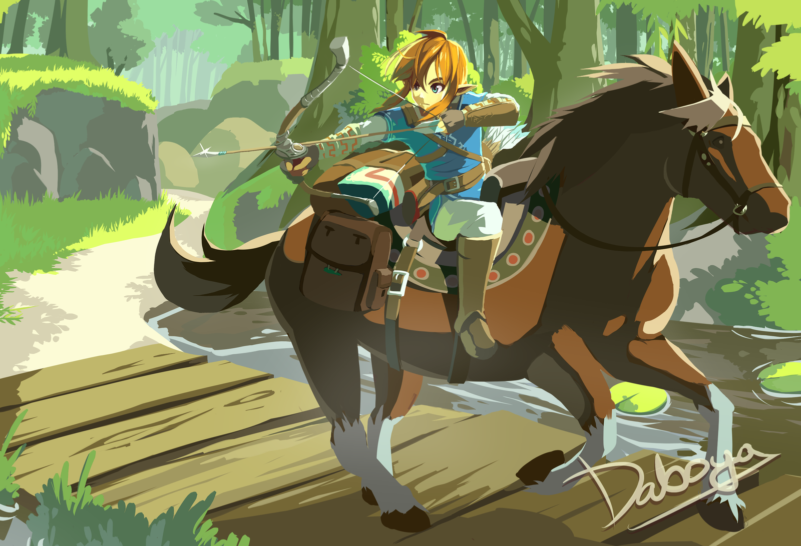 Zelda Wii U By Daboya On Deviantart