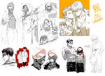 :: Recent OC sketch dump ::