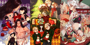 :: Christmas Commission : Sketch Page ::