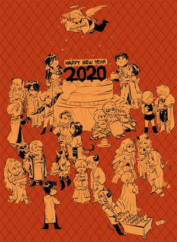 :: 2020 HAPPY NEW YEAR ENCHANTED DOLLS ::
