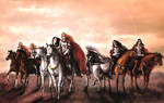 Sons of Feanor by tuuliky