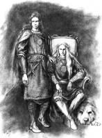 Tyelkormo and Curufinwe by tuuliky