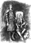 Tyelkormo and Curufinwe