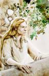 Finrod in Nargothrond