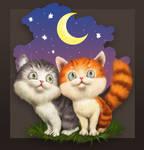 Kittens in Love...