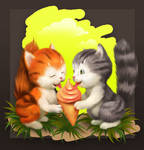 Kittens in Love... 4