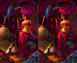 Fairy of Oriental Star WIP003