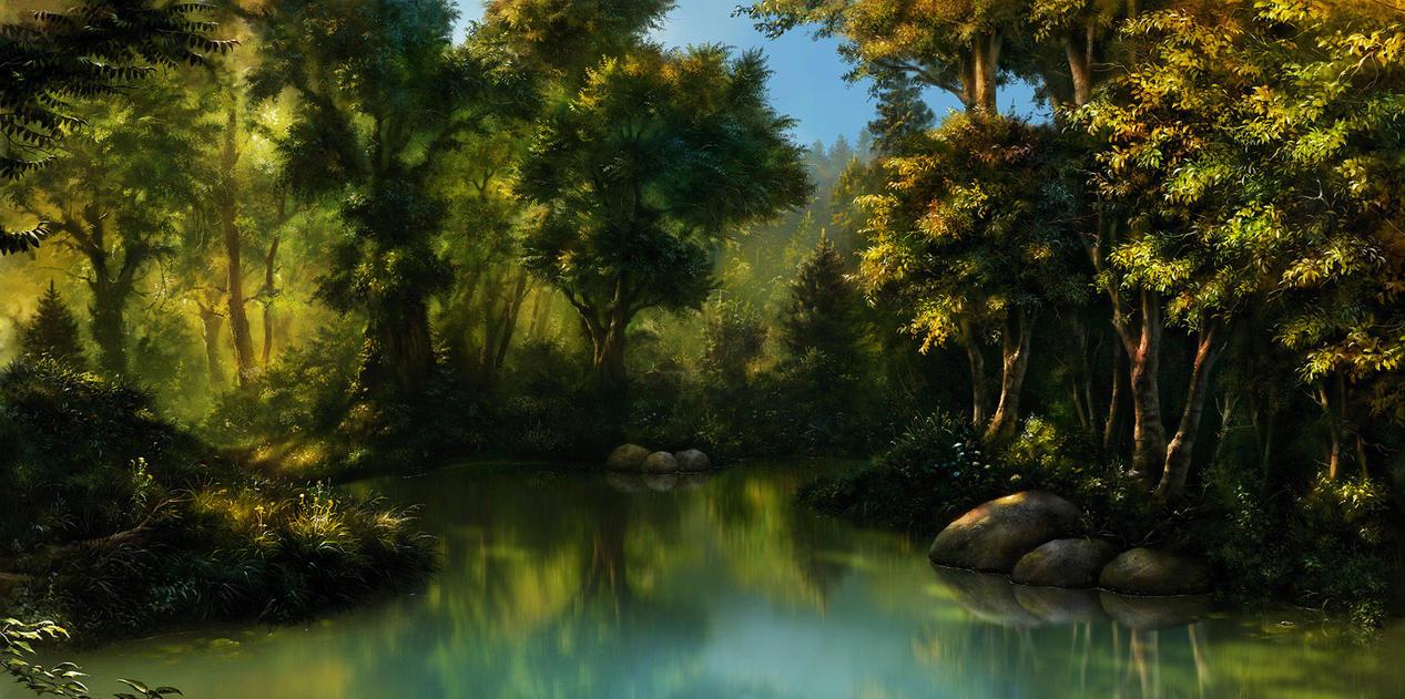 Forrest Corner by EldarZakirov
