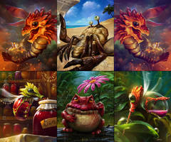 Royal Quest Cards by EldarZakirov