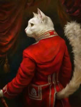 The Hermitage Court Chamber Herald Cat by EldarZakirov