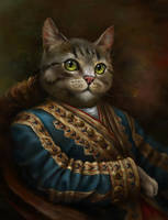 The Hermitage Court Outrunner Cat by EldarZakirov