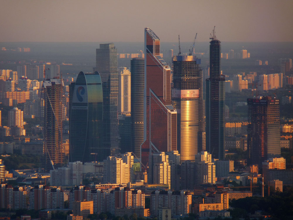 Moscow city by EldarZakirov