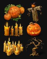 Halloween Stuff by EldarZakirov