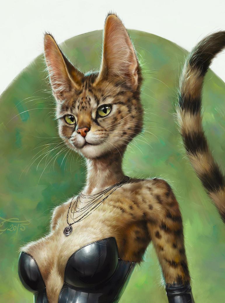 SexyCat-CloseUp by EldarZakirov
