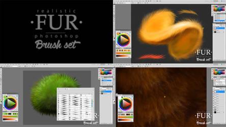 The FUR Brush Set Workflow Video