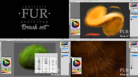 The FUR Brushset Workflow Video by EldarZakirov