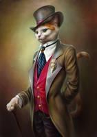The portrait of Oscar by EldarZakirov