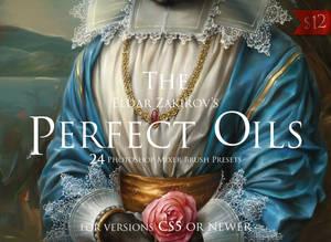 The Perfect Oils, 24 Mixer Brush Presets