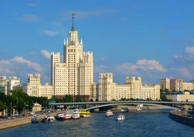 Kotelnicheskaya Embankment Building by EldarZakirov