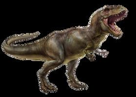 Tyrannosaurus Rex featherless by EldarZakirov