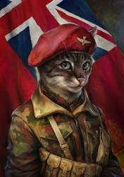 The Trooper Cat by EldarZakirov