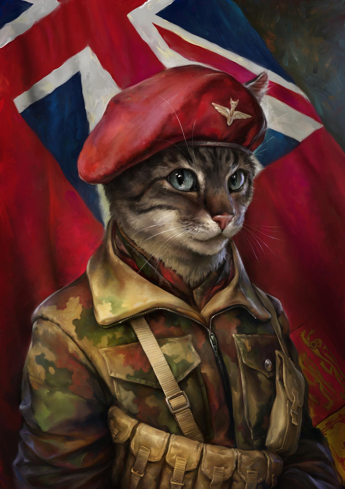 The Trooper Cat