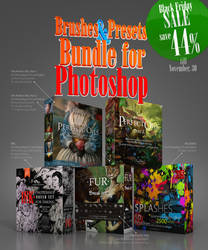 CyberMonday 44% SALE! Photoshop Presets Bundle! by EldarZakirov