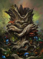 Crazy old Stumpie by EldarZakirov