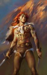 Swords like Lightning, Hooves like Thunder by EldarZakirov
