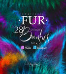 Realistic FUR Brushes for Affinity Photo/Designer by EldarZakirov