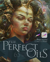 The Perfect Oils for Procreate. 65 oils brushes