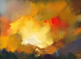 Inspired by Steve Salo. Oils in Procreate